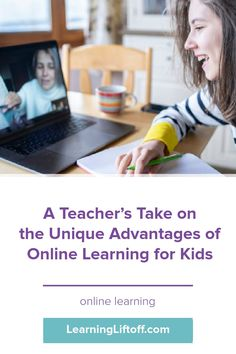 Many educators are finding there are unique advantages of online learning as many schools have shifted to this method due to the pandemic.