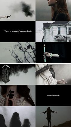 "WITCH AESTHETICS: southern gothic  ""I know of witches who whistle at different pitches, calling things that don't have names."""