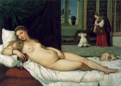 The Venus of Urbino by Titian