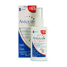 filtro solar para o corpo >> ANSOLAR SPORT SPRAY FPS65 COM 90 ML -- 71,