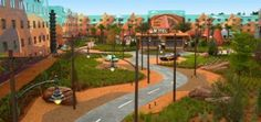 "Cars Park at the new ""Art of Animation"" Disney hotel"