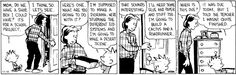Calvin and Hobbes Comic Strip  for Nov/18/2014 on GoComics.com