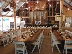 Inside the beautiful barn at The Boomerang Farm Mudgeeraba (This is the venue we are looking at!!)
