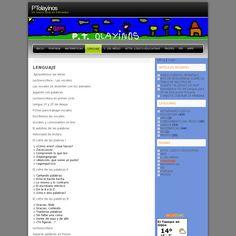 ¡Juega y aprende! http://blog.educastur.es/ptolayinos/indice-lenguaje/ snapped on Snapito! Sin duda los amigos y usuarios de  EducaSpain encontrarán estos recursos de educastur muy útiles.