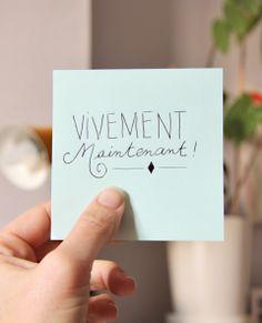 """Vivre dans le présent : """"Vivement Maintenant !"""""""
