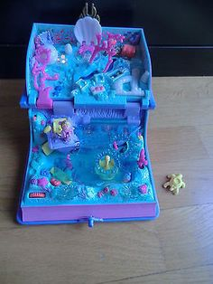 Polly-Pocket-Bluebird-1995-Livre-de-la-sireneStorybook-mermaid-adventure