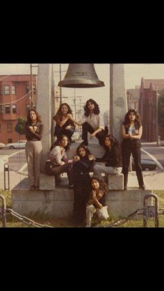 Hanging out at Dolores Park back in day!