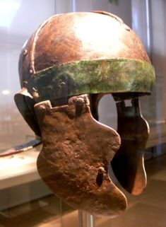 cassides weisenau theilenhofen02s Ancient Armor, Ancient Egyptian Art, Ancient Aliens, Ancient History, European History, Ancient Greece, American History, Rome, Roman Helmet