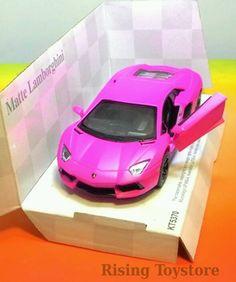 Kinsmart Matte Lamborghini Pink (skala 1:36)