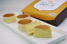お・て・な・し半熟チーズ+半熟スフレロール