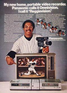 1980 Panasonic Omnivision Video Recording System Advertisement