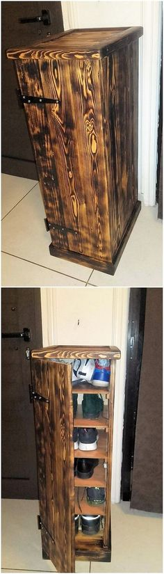 Shoe rack designs are always readily accessible in so many variations and designs. This image will show you out with yet another inspiring shoe rack design work being added into the cabinet feature mode that look so interesting. It brings an artistic feeling over the area where you will locate it.