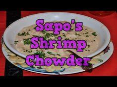 Sapo's Shrimp Chowder - YouTube