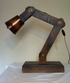 Steampunk meets Oor Wullie Table Lamp