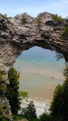 Arch Rock, Mackinaw Island, MI