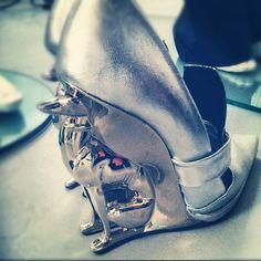 David Koma's Greyhound Shoes | #LFW | Bacchus Studio