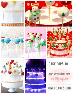 How To Guide to display cake pops - Cake Pops 101 -This is FANTASTIC!!