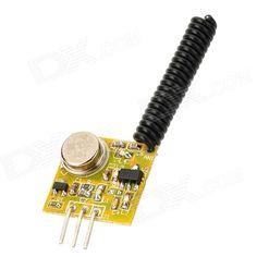 ZSD-T3 433MHz ASK High Power RF Transmitter Module - Yellow