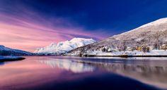 December Daylight. Kaldfjord, Norway. by Stig-Lennart Sørensen
