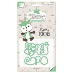 Snijstencil - Dendennis Little Woodland Adventures - Daisy Deer 6002/3125 40x72 mm