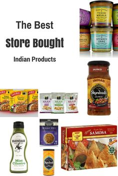 The Best Indian Products Available in Grocery Stores via @ACommunityTable