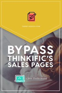 Thinkific Sales Page