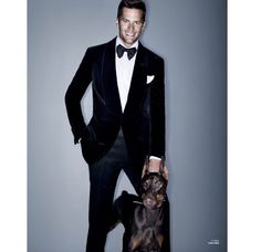 Tom Brady in Tom Ford Tux #fourrings #tombrady #superbowl #champs #newengland #patriots
