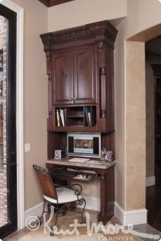 custom study cabinets by kent moore cabinets rustic maple wood with hearty rye stain and - Kent Kitchen Cabinets