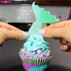 These Mermaid Cupcakes Are Pure Magic - Cosmopolitan.com