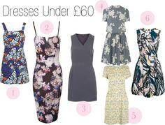 Dresses under £60 wishlist