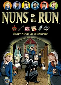 Nuns on the Run. Strategy game.