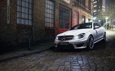 Mercedes-Benz C 63 AMG Coupé. Photo by Stefan Bischoff.  Fuel consumption combined:12,0 l/100 km, CO2-emissionen combined: 280 g/km.