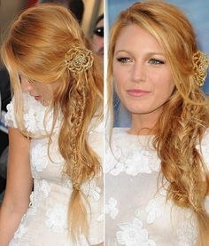 Blake Lively - Mermaid Half Braid With Clip