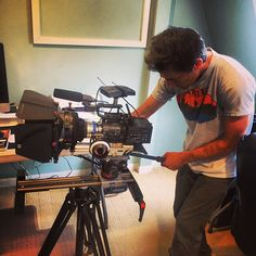 photo by Josh Keith JSK ‏@Josh_Keith1  Holy camera. #movcam #mattebox #camera #video #production #producer #editor #glidetrack #sony #video… http://instagram.com/p/gLlxuBsy5Y/