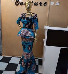 Ankara Beautiful Styles You Need To Copy - Ankara collections brings the latest high street fashion online