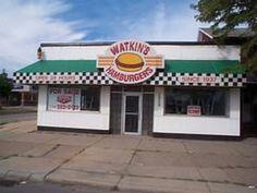 Watkins Hamburgers were greasy and delicious.