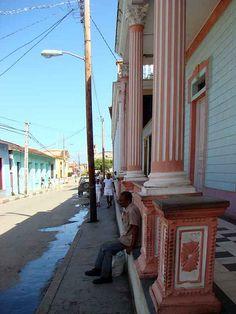 Cuba Baracoa Street Scene