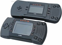 Atari Lynx, released in 1989. The world's first color portable gaming machine, over a decade ahead of its time.