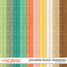 Paradise Found: Shimmers by Amber Shaw