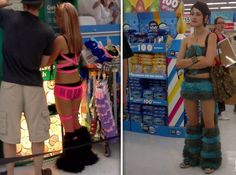 Walmart people and how not to ever dress