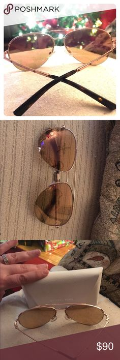 Michael Kors Sunglasses Beautiful Rose Gold Michael Kors Chelsea Aviator style Sunglasses! Only worn a few times, always kept in case and cleaned with Sunglass solution only! No scratches or blemishes, perfect condition! Michael Kors Accessories Sunglasses