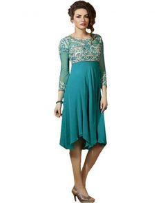 Stylish #Kurtis to add glamour to you look. Find beautiful designs at Ethnic Station.