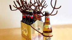 Reinbeer -- Not a recipe, but a great Christmas craft for adults.