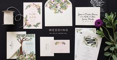 Rifle Paper Co. wedding invitations and announcements are something anyone would rush to the mailbox for.