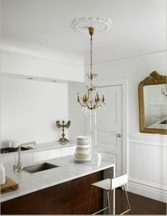 Modern traditional kitchen.
