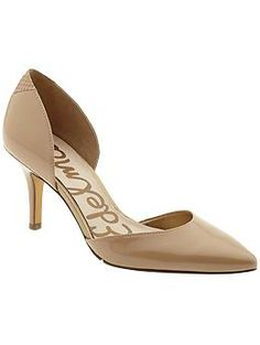 Recent purchase: Sam Edelman Opal | Piperlime - perfect nude pump for summer cropped pants, the modest heel can keep me on my feet all day!