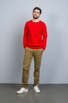 Homecore Pantalon Davis Chino Olive