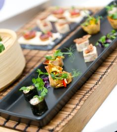 Presented with perfection canap s and bowl food ideas for Canape orientale