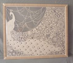 """[the paper cutter] """"peacock lace."""" and just like that, i fell in Love with papercuts again."""