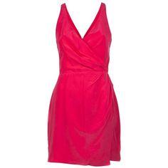 Zimmermann Silk cross back dress ($335) ❤ liked on Polyvore